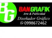 Diseñador grafico, publicidad