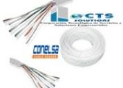 cable multipar de 6 pares +1