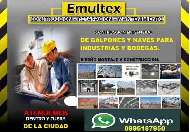 MAESTRO CONSTRUCTOR - PISCINAS, RESIDENCIAS, 0995187950 GALPONES