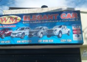renta de vehículos