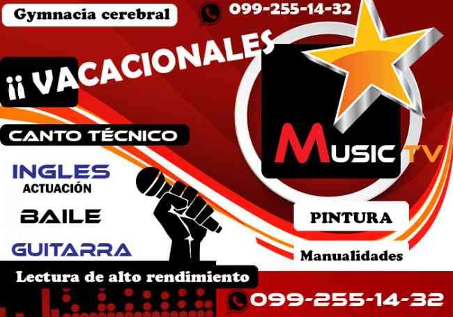 QUITO SUR /CANTO - GUITARRA - INGLES Whastapp: 099-255-14-32