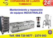 Mantenimiento y reparación de equipos industriales