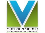 Servicios contables ing. victor marquez (servicontvm)