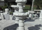 Pileta de piedra natural