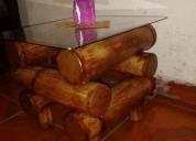 vendo este juego de muebles de bambu recie hecho