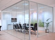 Mamparas y puertas de vidrio templado / crudo