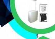 Stands publicitarios - publicidad - impulsadoras - stand portatiles
