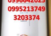Calefones de gas 26 litros para quito y el ecuador