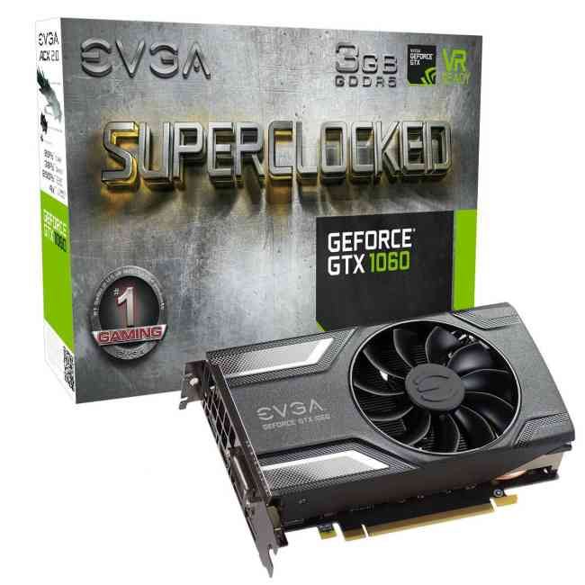 Vendo Tarjeta de Video EVGA Nvidia 1060 GTX 1060 3 GB