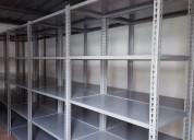 Estanterias metalicas para archivo, carga liviana
