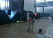 Dj en guayaquil sonido tarimas luces pantallas organizacion de eventos