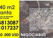 Excelente terreno en manta de venta inf. al 0985813087