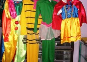 Vendo de oportunidad lote completo de disfraces ¡¡¡precio negociable!!!