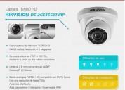 Cámara ds-2ce56c0t-irp tipo domo 720p grabacion hd hikvision