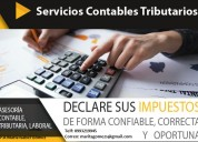 Servicios contables tributarios. su contabilidad siempre al día.