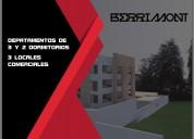 Vendo departamentos de 2 y 3 dormitorios 70 m2 y 100 m2