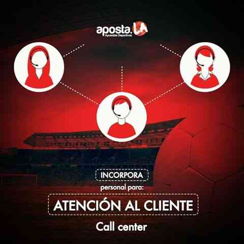 SE REQUIERE PERSONAL PARA CALL CENTER Y ATENCION AL CLEINTE