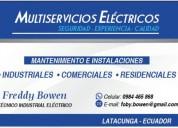 Mantenimiento industrial electrico y complementarios