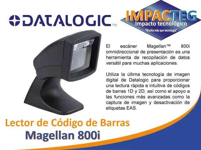 Lector De Código De Barras Magellan 800i
