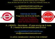 venta de correos de empresarios de ecuador inf. al 0991017237