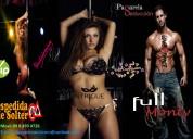 Los mejores shows de full monty y striptease para todo tipo de evento........