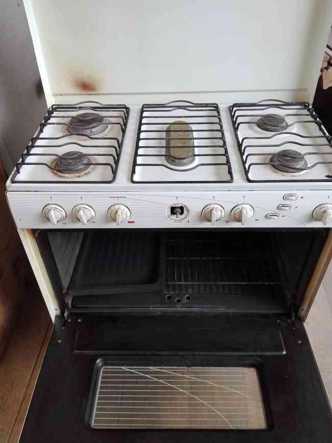 Cocina 5 quemadores usada