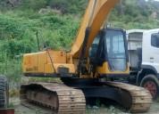 excavadora sany año 2009