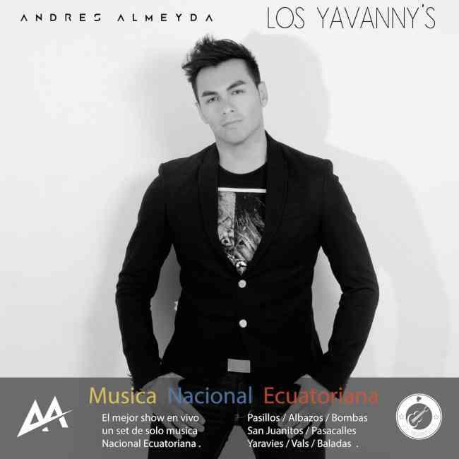 cantante profesional bailables y románticas música nacional ecuatoriana