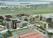 Sky building en av. de las amèrcias cerca al aeropuerto alquilo oficina 77m2
