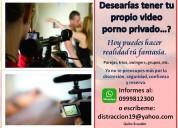 Desearias tener tu propio video porno de manera privada...?