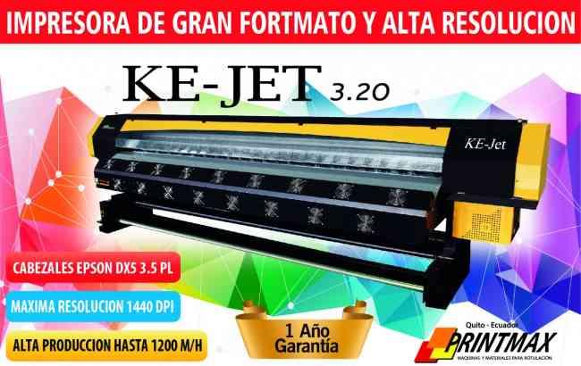 PLOTTER DE IMPRESIÓN KE-JET 3.20