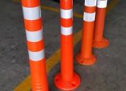 Venta de delineadores tubulares abatibles para carreteras