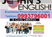 John's english clases de ingles a domicilio y online