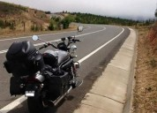 Flamante moto tipo custom