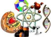 Clases particulares de química y biología