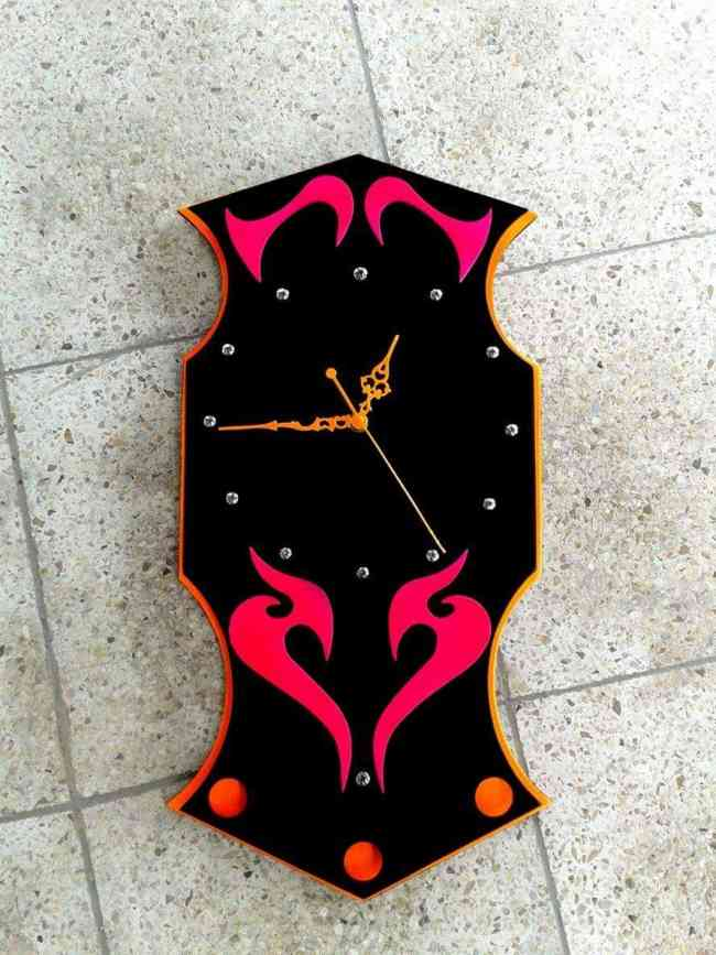 Relojes de pared de madera