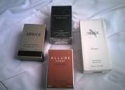 Perfumes para caballeros chanel,armani y ralp lauren. 100% originales