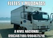 Camiones de alquiler para mudanzas y fletes 0983487180