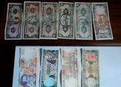 Billetes sucres,colección en venta $20