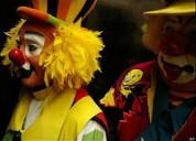 Show divertidos, animaciones fiestas infantiles: payasos, mago, inflables, baby shower $25