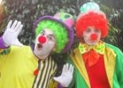 !!$50 fiestas super divertidas fiestas infantiles, payasos personajes tv. mago hora loca !!