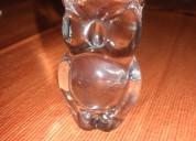 Hermosas figuras de cristal de bohemia con 50 aÑos de antiguedad