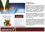 Armonyservi s.a le ofrece la gran oportunidad de invertir,jun7