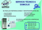 Servicio tecnico y reparacion de linea blanca calefones quito, cumbaya y los valles