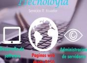 Itecnolóyia - diseño web, desarrollo de software, administración de servidores