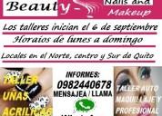 UÑas acrÍlicas talleres auto maquillaje y maquillaje profesional