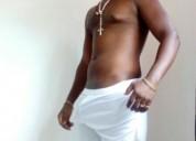 Africano modelo internacional dotado 24 cms