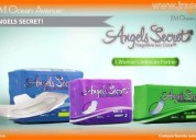 Toallas sanitarias angels secret de jm