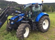 Tractor new holland t5.105 con cargador