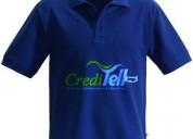 Camisetas  polo y de poli algodÓn creditell
